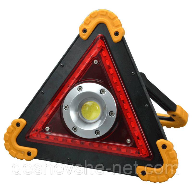 Cветодиодный фонарь с аварийным освещением аккумуляторный W837