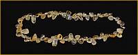 Недорогое оригинальное ожерелье из цитрина