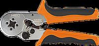 Клещи для обжима наконечников 0,25 - 6,0 мм.кв 01-507 Neo