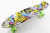 PENNY FISH SKATEBOARD ORIGINAL 22 РИСУНОК JOKER SZ-9