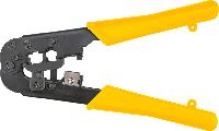 Клещи для обжима телефонных наконечников 6P, 8P 32D408 Topex