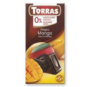 """Черный шоколад с манго """"Torras"""", 75 г"""