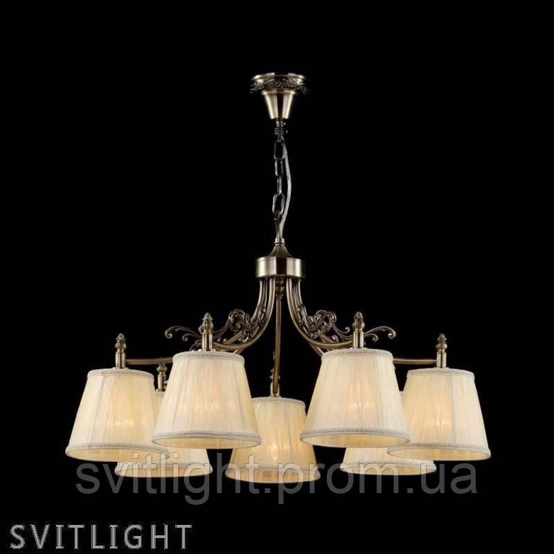 Люстра с абажуром на 7 лампочек ARM331-07-R Германия