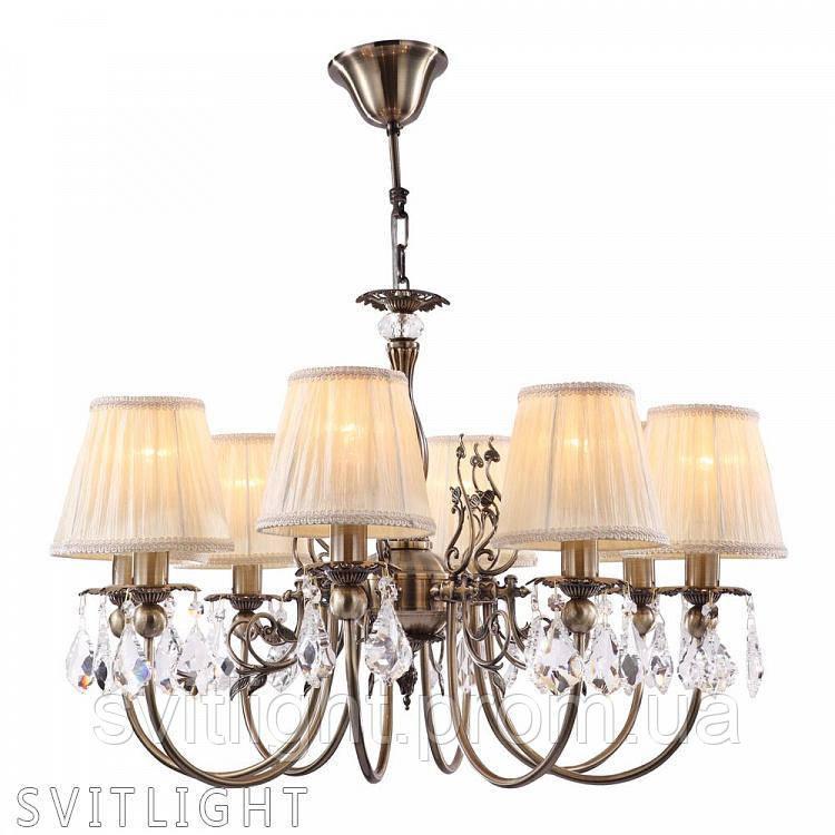 купить люстра с абажуром на 6 лампочек Arm301 06 Rrc301 Pl 06 R Mg