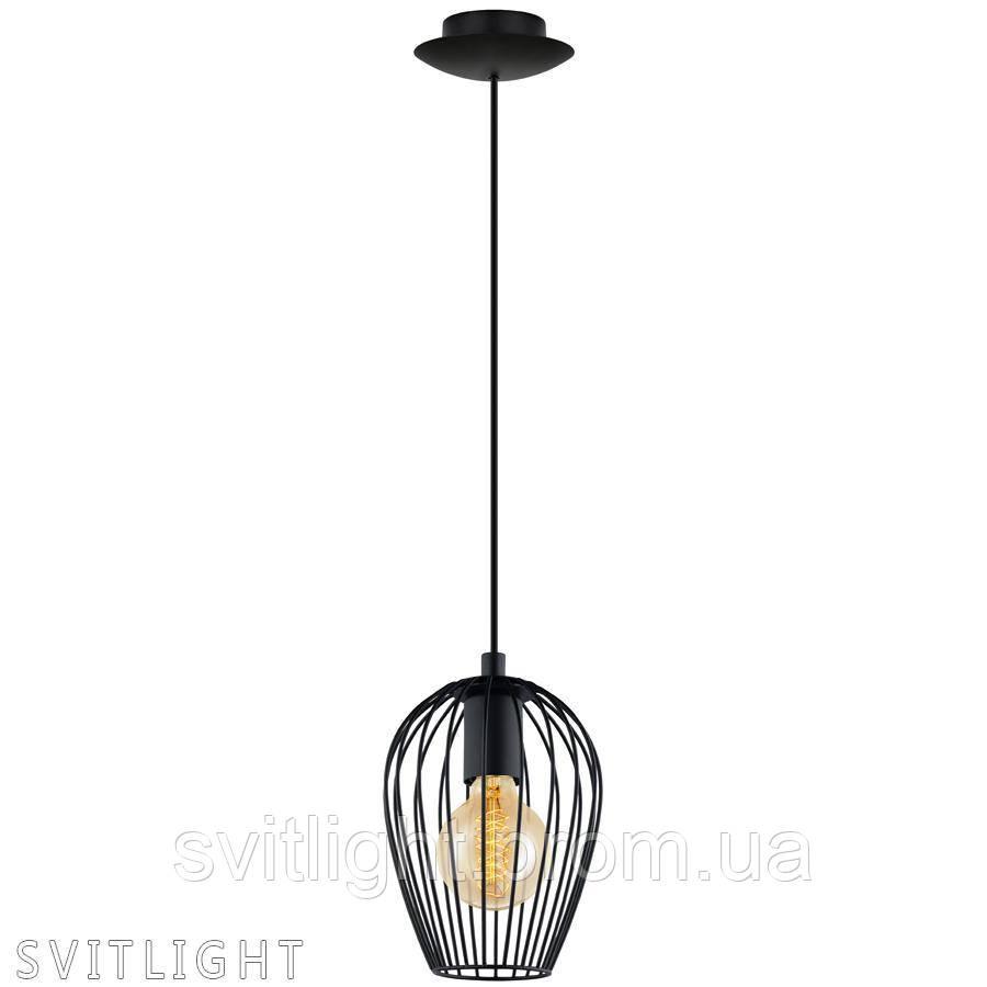 Підвісний світильник на 1 лампочку (Чорний) 49477 Eglo