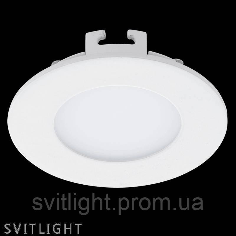 Точечный светильник встраиваемый 94041 Eglo. Встроенный LED светильник 2,7W – это современный источник света