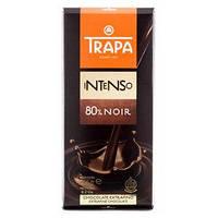 "Черный шоколад Trapa ""80% noir"", 175 г"
