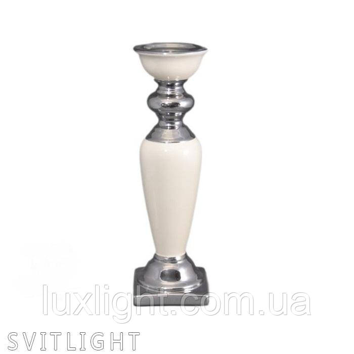 Подсвечник керамический 444-441 WT Al