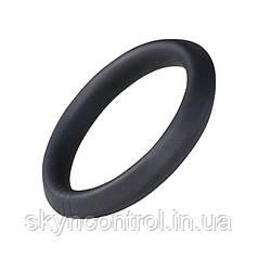 Ерекційне кільце стрейч силіконове чорне для більшої витривалості під час сексу - Round BOLD