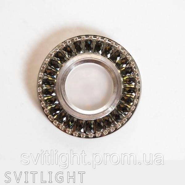 Точечный светильник встраиваемый 8238 GR LS Svitlight