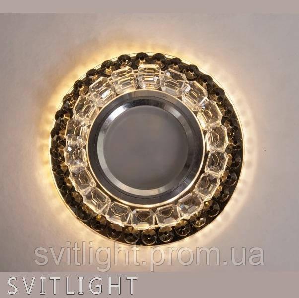 Точечный светильник встраиваемый 8299 Gray LS Svitlight