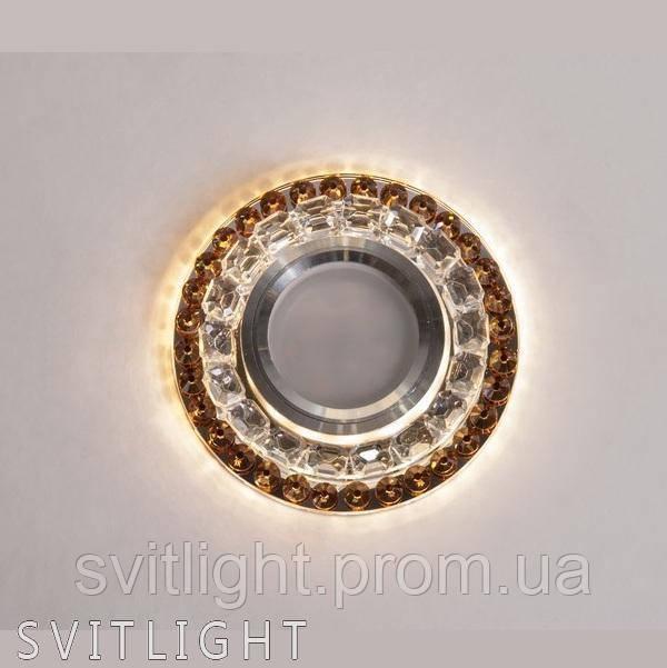 Точечный светильник встраиваемый 8299 Coffe LS Svitlight