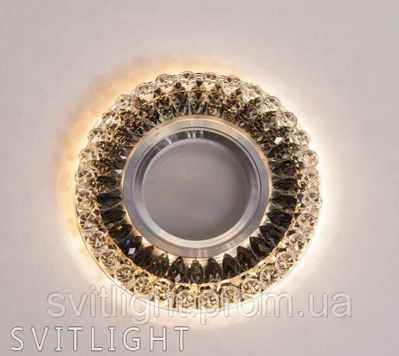 Точечный светильник встраиваемый 8248 Gray Svitlight