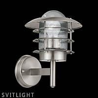 Настенный светильник 30181 Eglo. Материал арматуры: Нержавеющая сталь Материал плафона: Стекло Цвет арматуры: