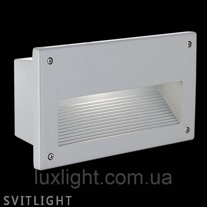 Встроенный светильник 88575 Eglo. Материал арматуры: Алюминий Материал плафона: Стекло Цвет арматуры: