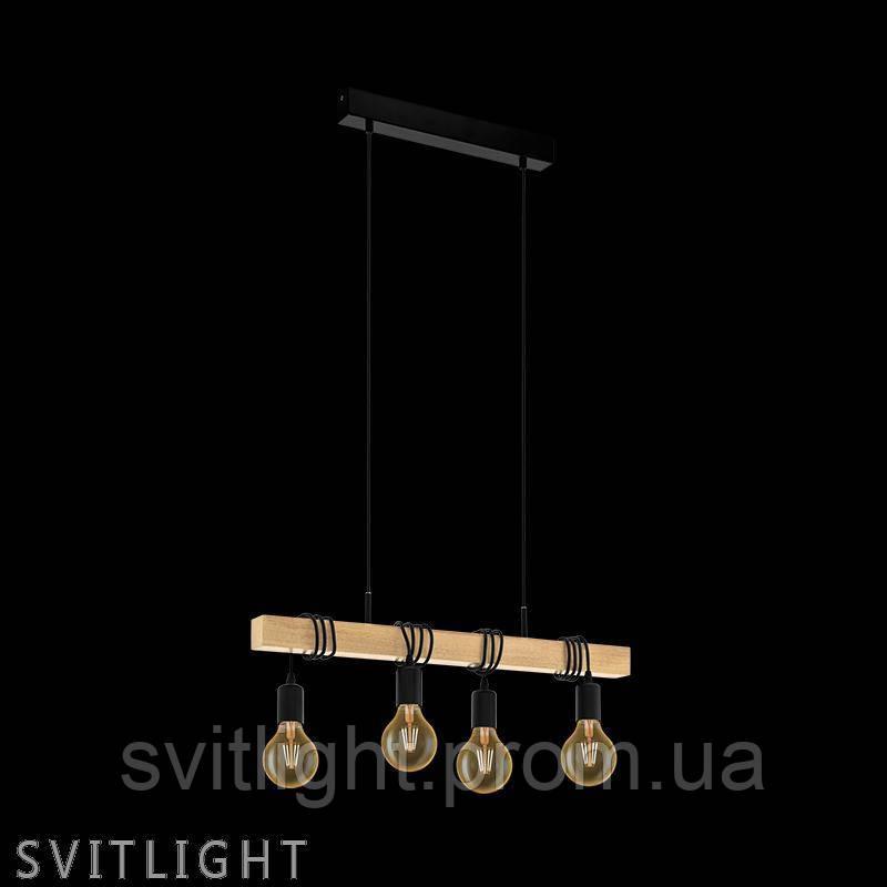 Люстра лофт на 4 лампочки 32916 Eglo