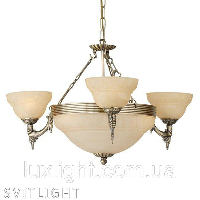 Люстра классика на 6 лампочек (Бронза) 85857 Eglo