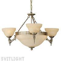 Люстра классика на 6 лампочек (Бронза) 85857 Eglo, фото 1