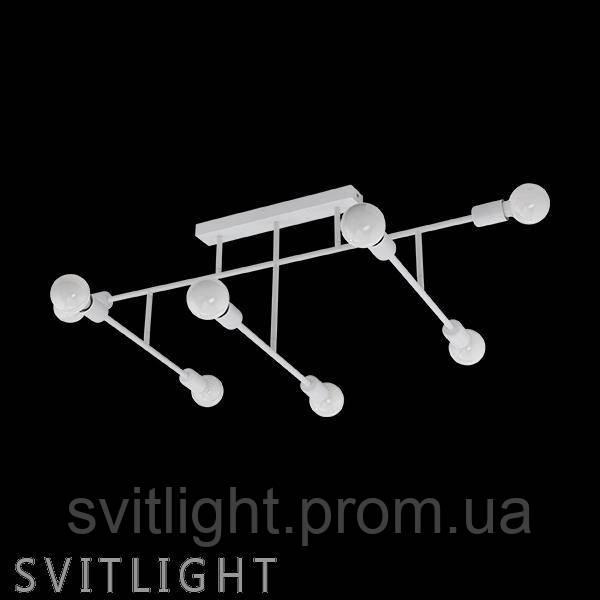 Люстра потолочная на 8 лампочек (Белый) 98033 Eglo