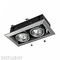Встраиваемый светильник DL008-2-02-S Германия, фото 1