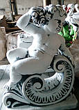 Статуя из бетона Орфей 70 см, фото 2