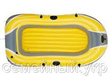 Надувная 2-х местная виниловая лодка. Размер 234х135 см. Нагрузка 190 кг. Bestway 61083 Hydro Force, фото 3