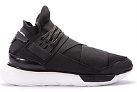 "Кроссовки Adidas Y-3 Qasa High ""Core Black/White"" Арт. 3852"