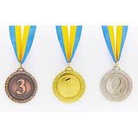 Медаль спортивная с лентой GREEK