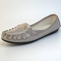 Мокасины кожаные летние женская обувь Tesoruccio Latte Pearl by Rosso Avangard карамель, фото 1
