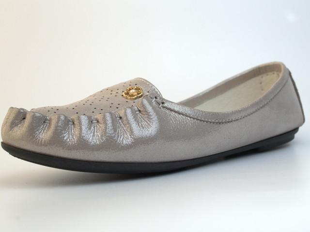 Мокасины кожаные летние женская обувь Tesoruccio Latte Pearl by Rosso Avangard карамель