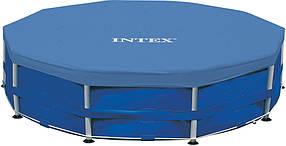 Тент для каркасного круглого бассейна 366 см Intex оригинал