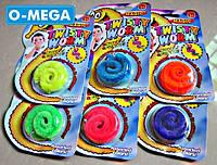 Twisty Worm, Пушистик Байла оригинал, Червячок Мейзи, Magic Worm, Mr.Fuzzy., фото 1
