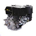 Двигатель бензиновый  WEIMA WM190F-L (R) NEW (ВАЛ ПОД ШПОНКУ, 25 ММ, 16 Л.С., РЕДУКТОР ), фото 4
