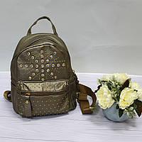 Женский рюкзак городской со стразами, фото 1
