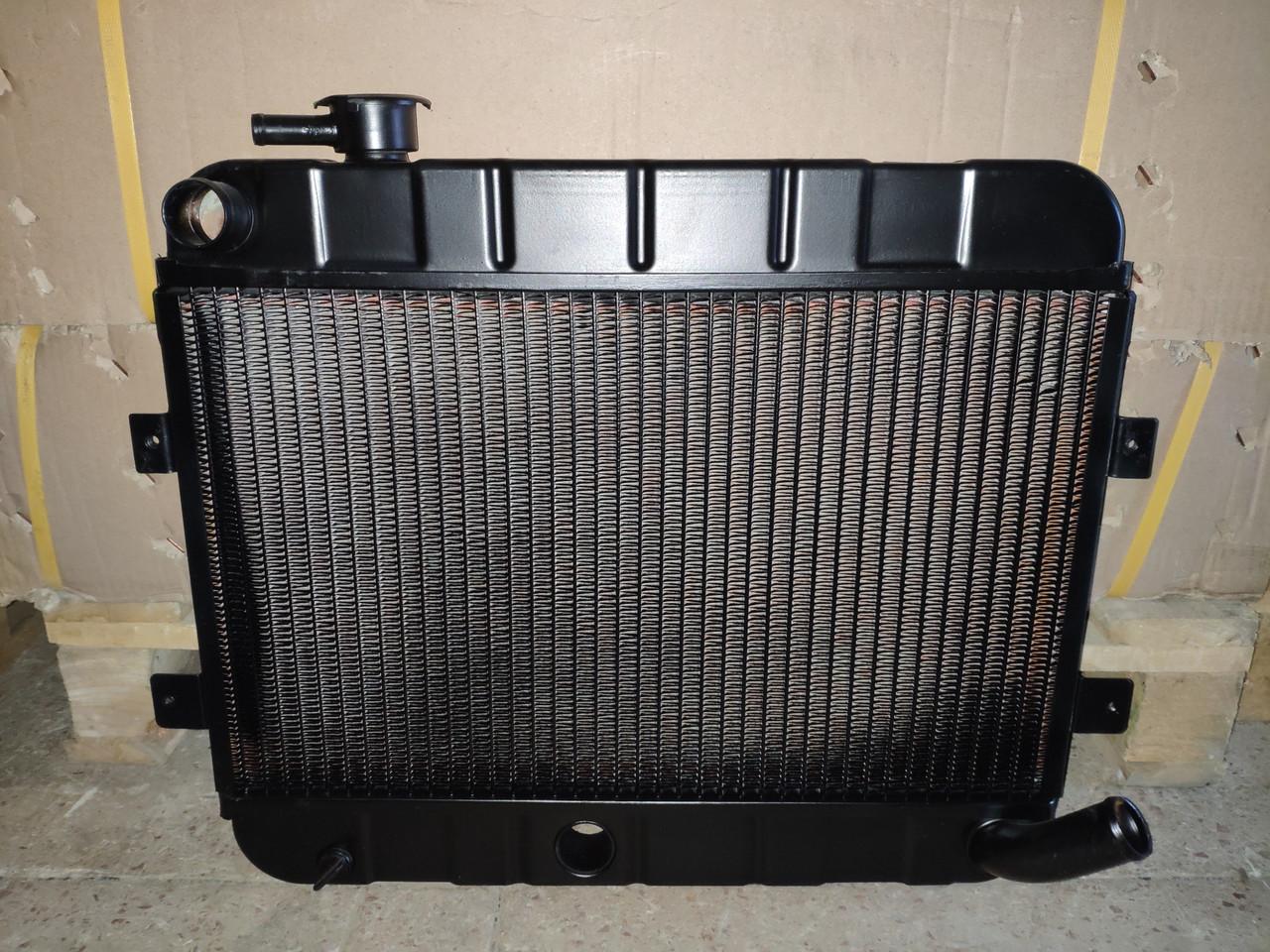 Радиатор ВАЗ 2102 медный двух рядный пр-во Иран Радиатор