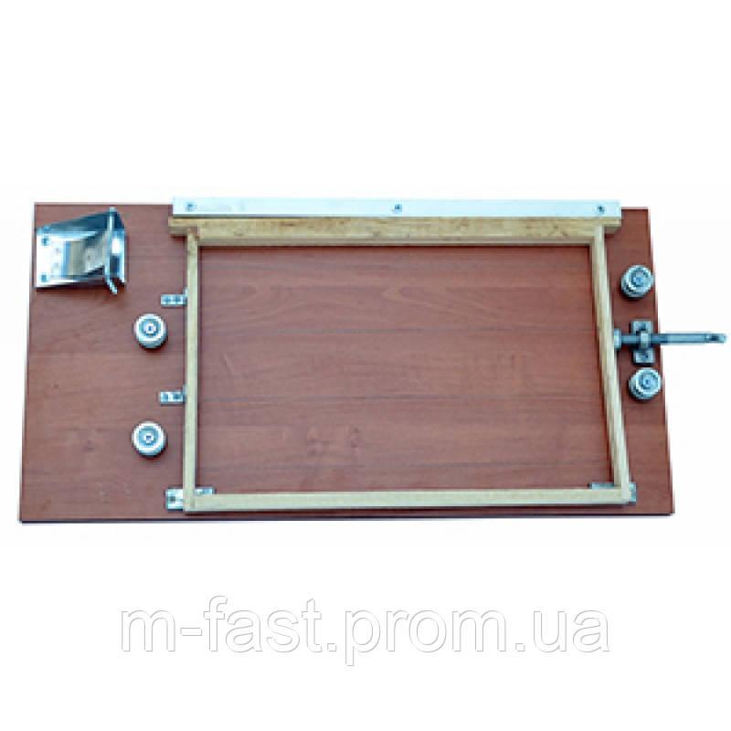 Пристрій для оснащення бджолярських рамок дротом