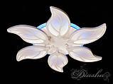 Недорогая светодиодная люстра 8028/6WH LED 3color dimmer, фото 4