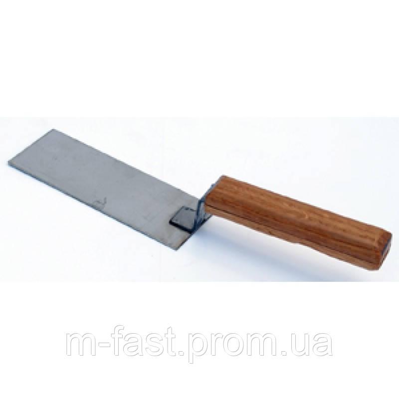 Лопатка для розфасовки меду (з нержавіючої сталі)