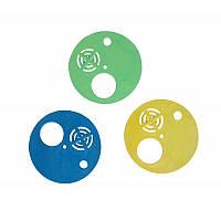 Льотковий загороджувач 3-х елементний круглий пластмасовий