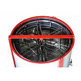"""Медогонка 14-рамковая автоматична підлозі поворотна під рамку """"Рута"""" (ремінний привід), фото 2"""
