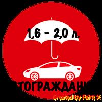 ОСАГО (автогражданка, автоцивилка)! Объем двигателя от 1,6 л. до 2,0 л. / г.Одесса