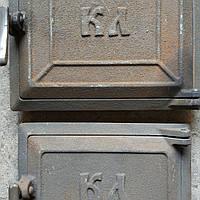 """Комплект дверей в печь """"КЛ"""" средние чугунные 280*240 мм (вес - 12 кг), фото 1"""