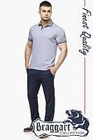 Тенниска мужская Braggart 6093N-2 серый