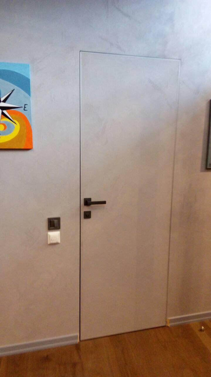 "Двери ""Скрытого монтажа"" под покраску"