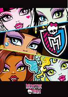 "Магнит сувенирный ""Monster High"" 15"