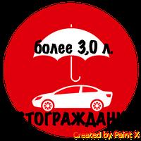ОСАГО (автогражданка, автоцивилка)! Объем двигателя более 3,0 л. / г.Одесса