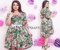 Платье № 109 / Минова / зеленый