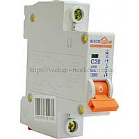 Автоматический выключатель ECO 1P 25A ECOHOME АСКО
