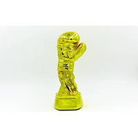 Статуэтка (фигурка) наградная спортивная Боксерская перчатка золотая