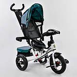 Велосипед трехколесный 7700 В 6980 Best Trike, пульт света и звука, поворотное сиденье, фото 4